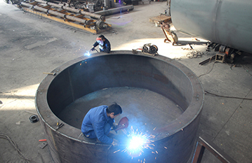 WELDING ZONE OF