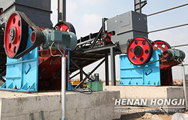 European version jaw crusher